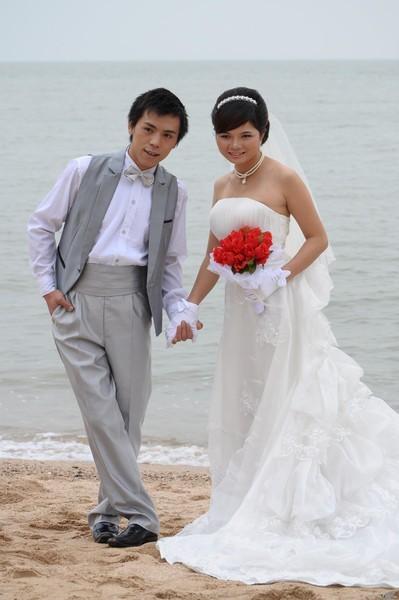 婚纱15-国庆珠海淇澳岛蹭拍婚纱照-zol相册